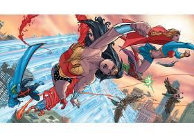 漫画壁纸,公正,联盟,关于,美国,火星的,追捕者,奇迹,妇女,鹰派女