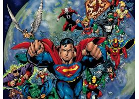 漫画壁纸,公正,联盟,关于,美国,绿色的,灯笼,闪光,火星的,追捕者,