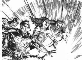 漫画壁纸,公正,联盟,关于,美国,闪光,超人,奇迹,妇女,Aquaman,壁