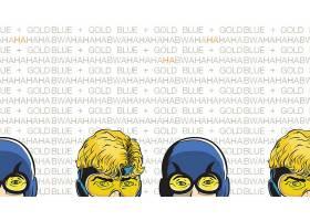 漫画壁纸,助推器,金色的,哥伦比亚特区,漫画壁纸,超级英雄,蓝色,