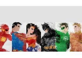 漫画壁纸,公正,联盟,关于,美国,闪光,超人,奇迹,妇女,勤务兵,绿色