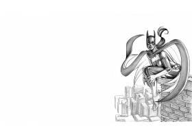 漫画壁纸,蝙蝠女侠,壁纸(36)