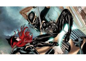 漫画壁纸,蝙蝠女侠,壁纸(42)