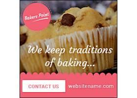 创意甜点蛋糕淘宝主图模板