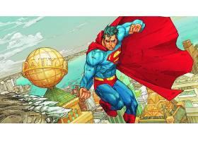 漫画壁纸,超人,红色,披肩,漫画壁纸,超级英雄,壁纸