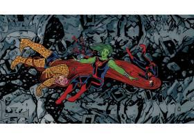 漫画壁纸,极好的,四,东西,Gamora,水母,壁纸