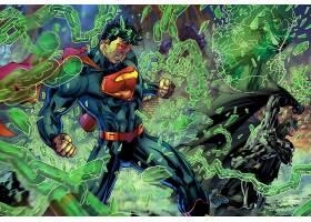 漫画壁纸,超人,绿色的,灯笼,壁纸