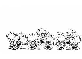 漫画壁纸,加尔文,霍布斯,加尔文,壁纸(4)