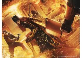 漫画壁纸,蝙蝠女侠,年刊,蝙蝠女侠,芭芭拉,戈登,壁纸