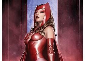 漫画壁纸,红衣,女巫,壁纸(1)