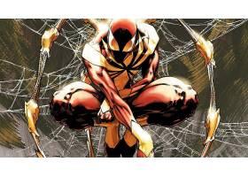 漫画壁纸,红衣,蜘蛛,壁纸(1)