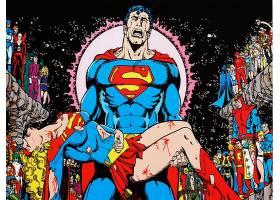 漫画壁纸,超人,超级女声,壁纸