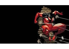 漫画壁纸,红衣,蜘蛛,壁纸(3)