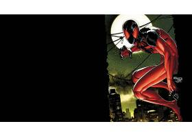 漫画壁纸,红衣,蜘蛛,壁纸(4)