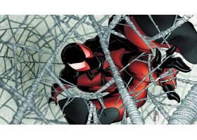 漫画壁纸,红衣,蜘蛛,壁纸(5)