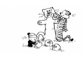漫画壁纸,加尔文,霍布斯,霍布斯,加尔文,壁纸(5)