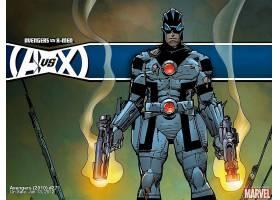 漫画壁纸,复仇者,vs .,x战警,x战警,壁纸(2)
