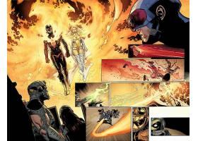 漫画壁纸,复仇者,vs .,x战警,x战警,独眼巨人,奇迹,漫画壁纸,凤凰