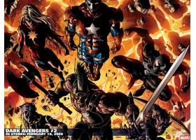 漫画壁纸,黑暗,复仇者联盟,船长,奇迹,熨斗,男人,恶意,鹰眼,壁纸