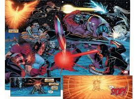 漫画壁纸,复仇者,vs .,x战警,x战警,船长,美国,东西,黑色,寡妇,重