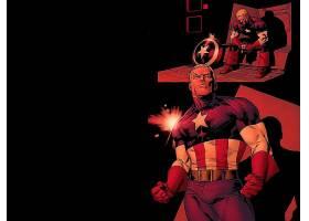 漫画壁纸,船长,美国,壁纸(22)