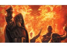 漫画壁纸,复仇者联盟,这,复仇者联盟,医生,死亡,Mephisto,壁纸