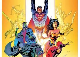 漫画壁纸,公正,联盟,关于,美国,火星的,追捕者,勤务兵,超人,奇迹,