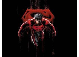 漫画壁纸,超级小子,红色,漫画壁纸,超级英雄,壁纸