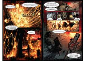漫画壁纸,沉重的,金属,世界末日,四,骑士,关于,这,天启,神秘的,壁