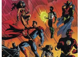 漫画壁纸,公正,联盟,勤务兵,奇迹,妇女,绿色的,灯笼,闪光,火星的,
