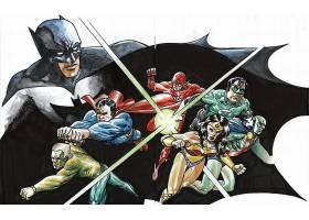漫画壁纸,公正,联盟,勤务兵,超人,奇迹,妇女,绿色的,灯笼,闪光,Aq