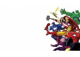 漫画壁纸,复仇者联盟,这,复仇者联盟,托尔,船长,美国,鹰眼,赫然显