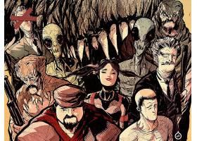 漫画壁纸,弓箭手,阿姆斯壮,弓箭手,阿姆斯壮,壁纸(6)