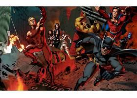 漫画壁纸,公正,联盟,勤务兵,超人,电子人,哥伦比亚特区,漫画壁纸,