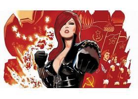 漫画壁纸,黑色,寡妇,壁纸(3)