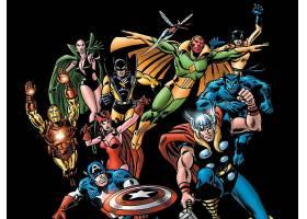 漫画壁纸,复仇者联盟,这,复仇者联盟,熨斗,男人,船长,美国,红衣,