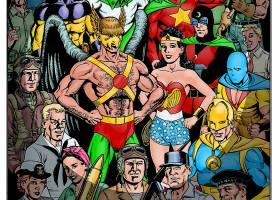 漫画壁纸,公正,联盟,奇迹,妇女,霍克曼,公正,社会,关于,美国,全明