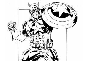 漫画壁纸,船长,美国,壁纸(54)