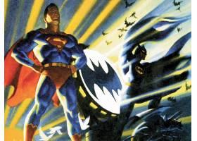 漫画壁纸,超人,勤务兵,壁纸