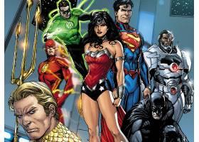 漫画壁纸,公正,联盟,绿色的,灯笼,奇迹,妇女,超人,闪光,勤务兵,Aq