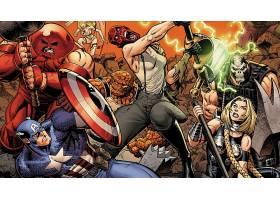 漫画壁纸,复仇者联盟,这,复仇者联盟,船长,美国,东西,红色,头盖骨