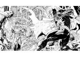 漫画壁纸,公正,联盟,超人,勤务兵,哥伦比亚特区,漫画壁纸,壁纸