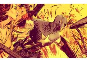 漫画壁纸,船长,美国,壁纸(66)