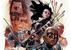 漫画壁纸,复仇者联盟,这,复仇者联盟,船长,美国,独眼巨人,蜘蛛侠,