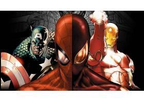 漫画壁纸,复仇者联盟,这,复仇者联盟,船长,美国,蜘蛛侠,熨斗,男人