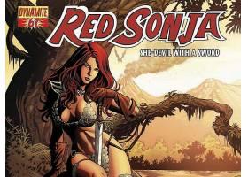 漫画壁纸,红色,Sonja,壁纸(12)