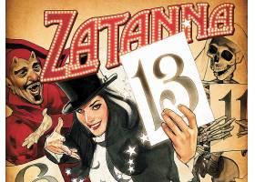 漫画壁纸,Zatanna,壁纸(4)