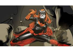 漫画壁纸,蝙蝠女侠,壁纸(4)