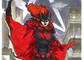 漫画壁纸,蝙蝠女侠,壁纸(45)