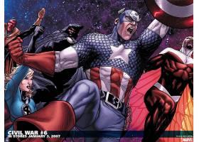 漫画壁纸,公民的,战争,船长,美国,看不见的,妇女,苏珊,暴风雨,壁